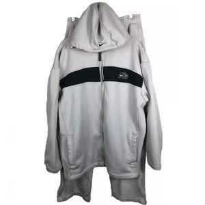 NIKE AIR Basketball TRACK SUIT Jacket/Pants Large